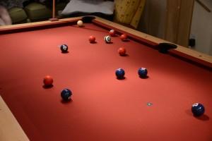 Nationals Billiard Balls