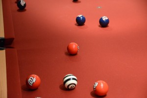 Nationals Billiard Balls